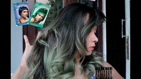 Sisir Kuas Cat Rambut Semir Biru cat rambut warna tosca cepat dan lowbudget