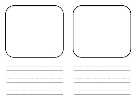 mini book template free center teacher idea