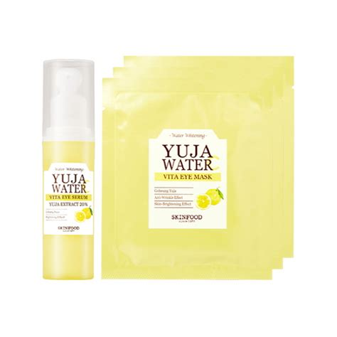 Skinfood Yuja Water C Toner skinfood yuja water c vita eye serum set