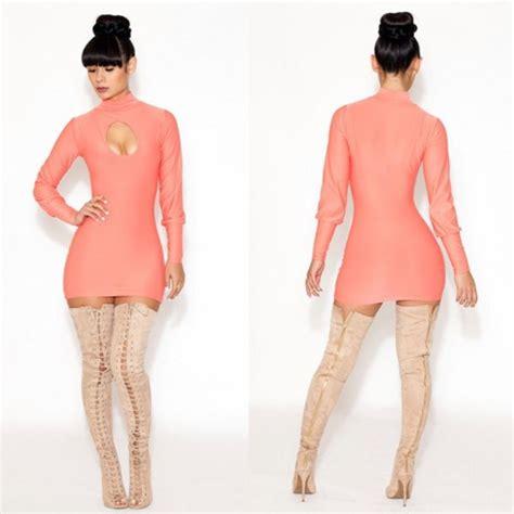 Kimi Mici Dress dress thigh high boots shoes wheretoget