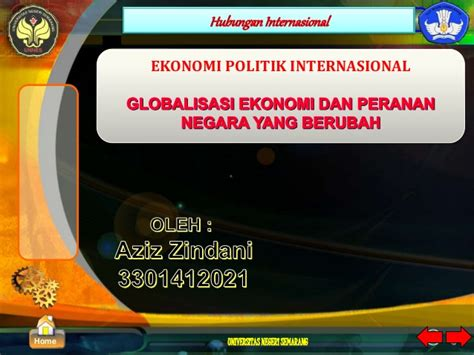 Ekonomi Politik 1 ekonomi politik international
