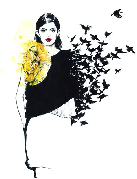 fashion illustration editorial instaawesome the fashion illustrations of diana kuksa