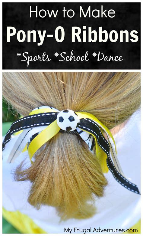 ponytail ribbons  girls pony os