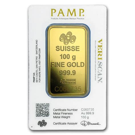 Vetsin 100 Gram p suisse fortuna gold bar 100g goldsilver central your one stop gold silver and