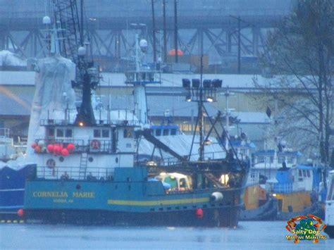 deadliest catch ship goes down f v cornelia marie deadliest catch ak crabber departing