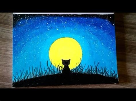 Cat Akrilik Faber Castell menggambar menggunakan pastel