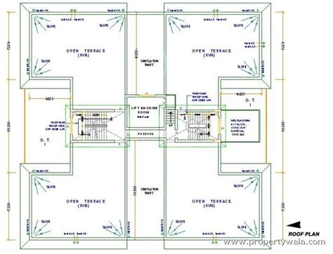 flat roof plan greenfield heights new town rajarhat kolkata apartment flat project propertywala