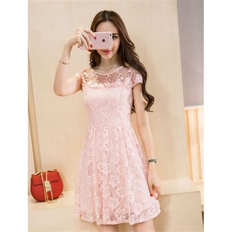 Dress Brukat Korean dress brukat korea d4181 moro fashion