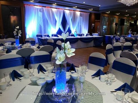 royal blue wedding decorations ideas cool awesome royal blue and white wedding theme my