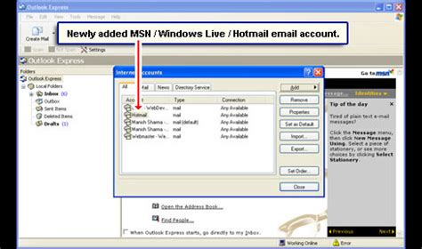 Msn Email Search Msn Hotmail Sign In Email Image Search Results