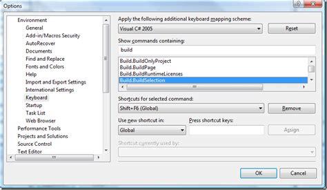 reset visual studio keyboard settings msdn flash keyboard visual studio tips tricks for dec