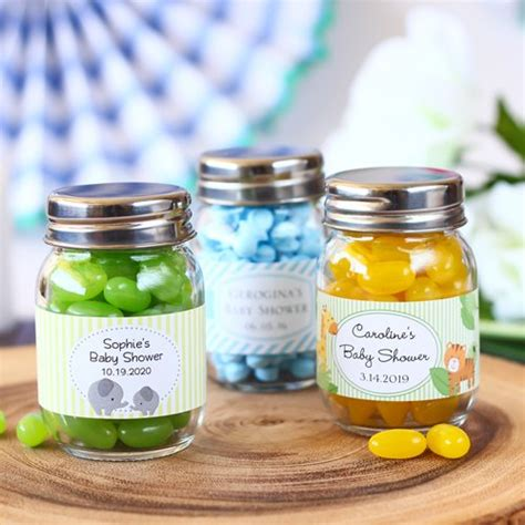 Baby Shower Favors Jars by Personalized Glass Baby Shower Jar