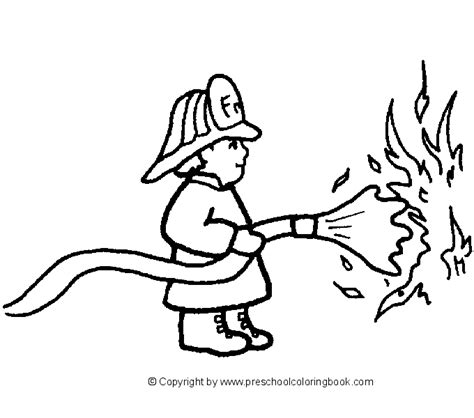 free printable vire coloring pages free preschool fire safety coloring pages