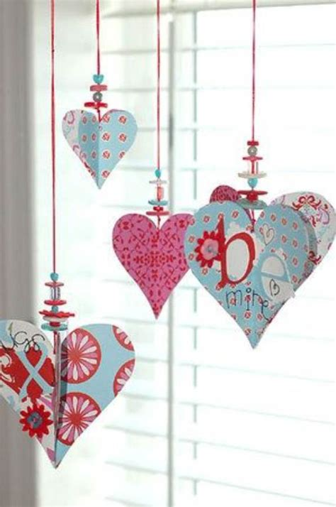 s day ornaments sweet diy crafts ideas for valentine s day 18