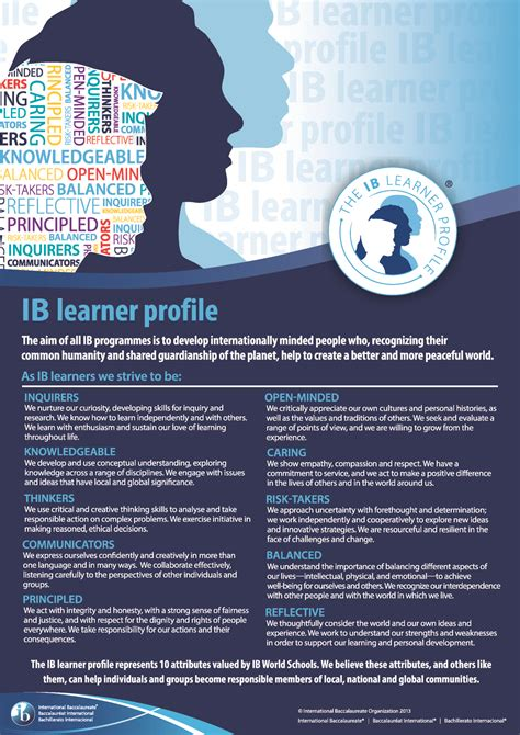 ib approaches to learning and the learner profile kildonan school