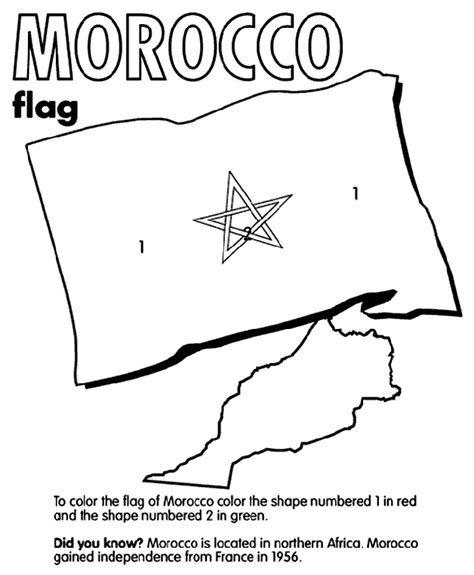 morocco coloring page crayola com