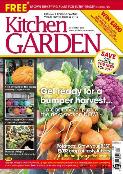 kitchen garden december 2010 187 download pdf magazines