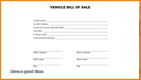 free template for bill of sale simple bill of sale template 2018 world of reference