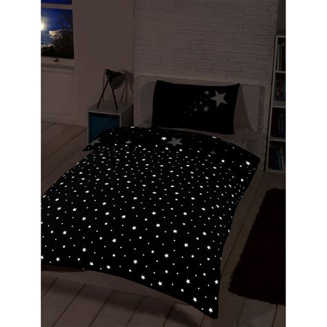 glow in the dark bedding glow in the dark single duvet set black bedding duvet sets
