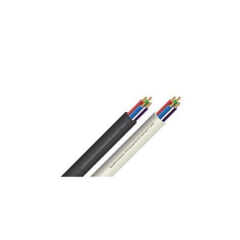led kabel 4 aderig 3x0 5 1x0 75 beige rgb multicolor rol 100m