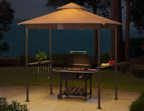 Grill Gazebo With Lights by Wicker Grill Gazebo With Led Lights