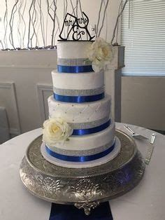 Royal blue and silver Quinceanera   My Cakes in 2019