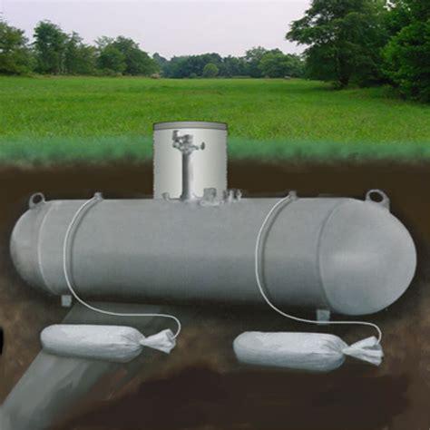 underground propane tank installation