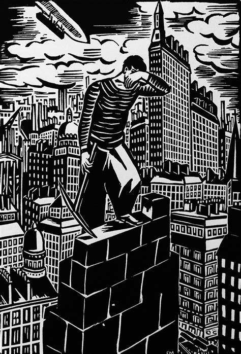 the city a novel is frans masereel s the city the graphic novel