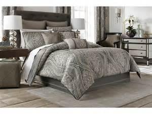 croscill amadeo comforter set queen smoke zappos com