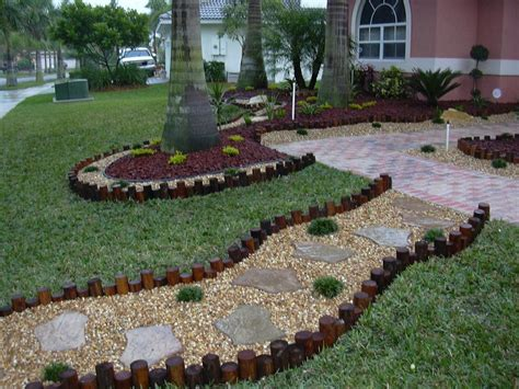 Idea For Landscape Garden Florida Back Yard Landscaping Design Ideas