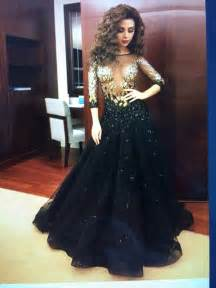 myriam fares celebrity dresses 2015 with half sleeves key