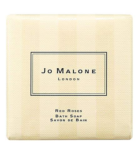 Shop For The Cure Jo Malone Roses Bath 3 by Jo Malone Roses Bath Soap 100g Selfridges