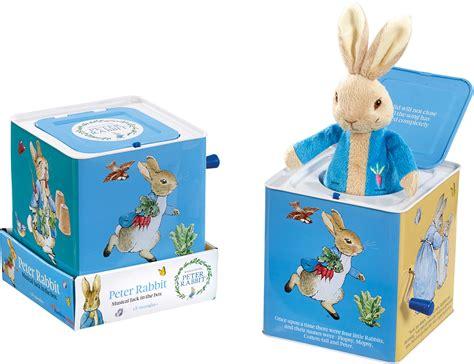 rainbow designs peter rabbit my first peter rabbit rainbow designs peter rabbit musical jack in the box toy fun toddler child bn ebay