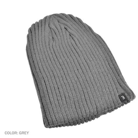 beanie hat knit b2b jaxon rib knit beanie hat gray beanies