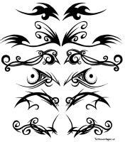 Motorrad Tattoo Vorlagen Gratis by Kleine Tribal Tattoo Pictures To Pin On Pinterest Picture