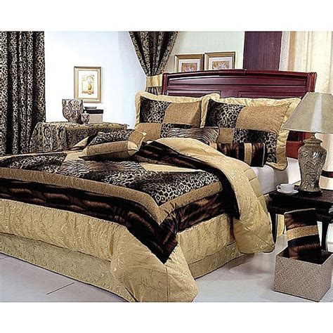 cheetah bedroom king linen comforter sets cozychamber com