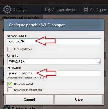 Pasang Wifi Portable cara pasang dan ganti nama password hotspot wifi samsung