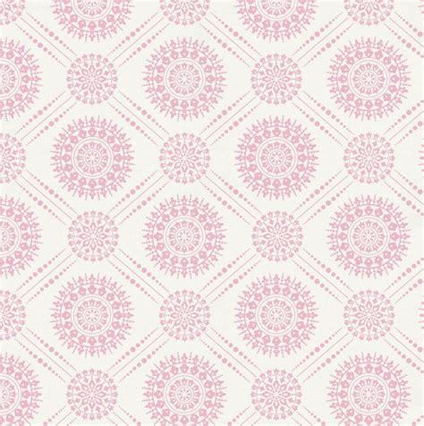 pink pattern fabric bubblegum pink modern medallion fabric by the yard pink