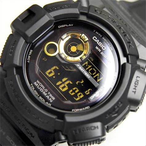 buy casio g shock mudman master of g black motif g 9300gb 1 g9300gb buy watches