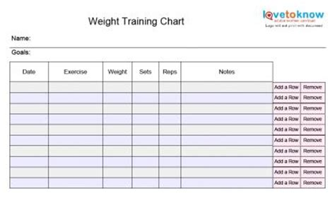 blank workout card template blank exercise charts