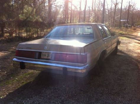 how to learn about cars 1986 mercury grand marquis interior lighting purchase used 1986 mercury grand marquis 5 0 fuel inj daily driver cold a c in