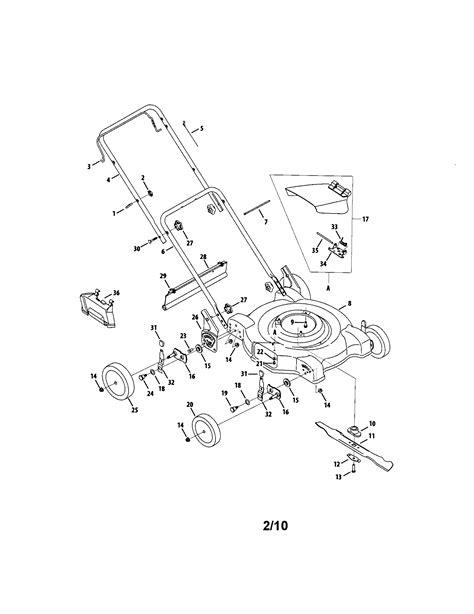 mtd mower parts mtd lawn mower parts model 11a084e029 sears partsdirect