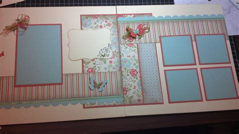 layout for scrapbook pages 2 page scrapbook layout scrabooking ideas pinterest