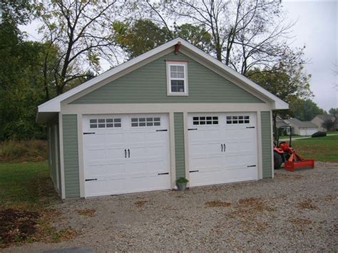 two door garage a better garage builder garage contractor calgary