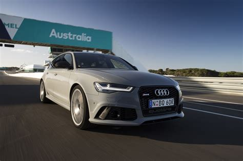 Audi Rs6 2016 by 2016 Audi Rs6 And Rs7 Performance Track Review Caradvice