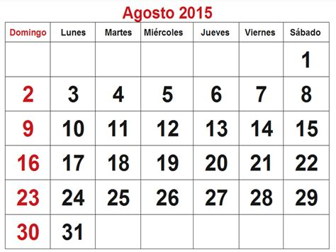 Calendario De Agosto 2015 Search Results For Calendario 2015 Walmart Calendar 2015