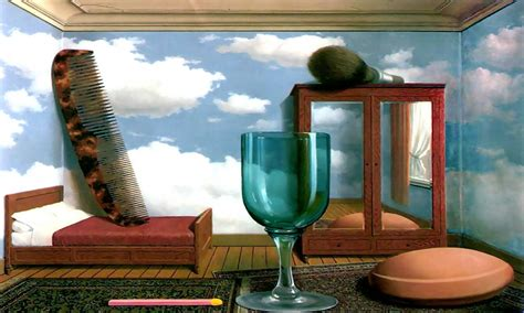 Bedroom Wall Decorating Ideas by Model Rooms Design Les Valeurs Personnelles Rene Magritte