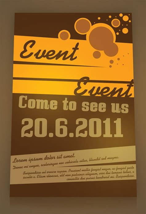 Event Poster Templates Free free flyer templates more than 30 designs