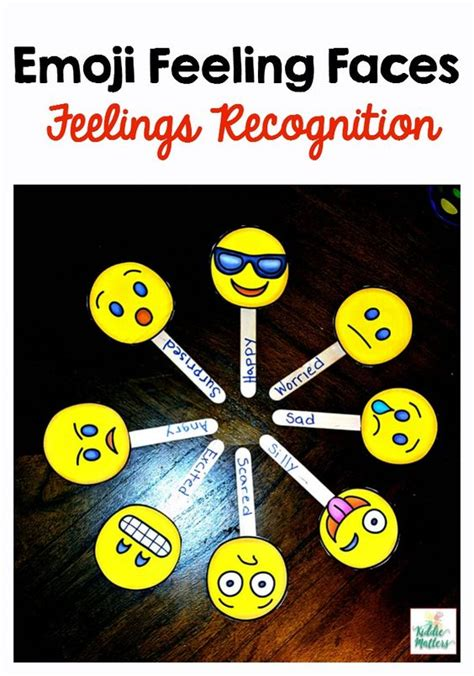 emoji recognition chart emoji feeling faces feelings recognition activities