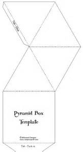 foldable pyramid template pyramid box template paperandmore